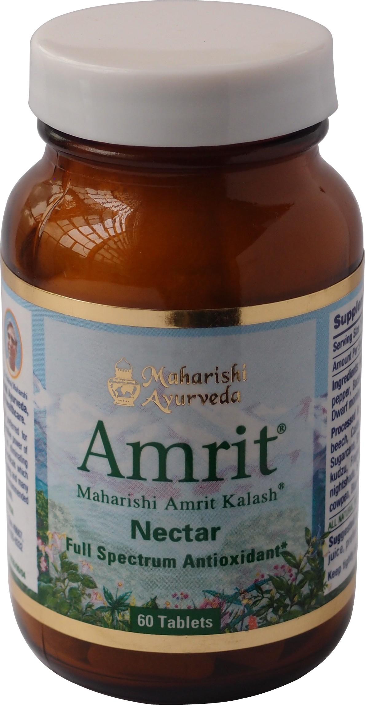 Maharishi A. MA7 Amrit Kailash Nectar Tablets (sans sucre)