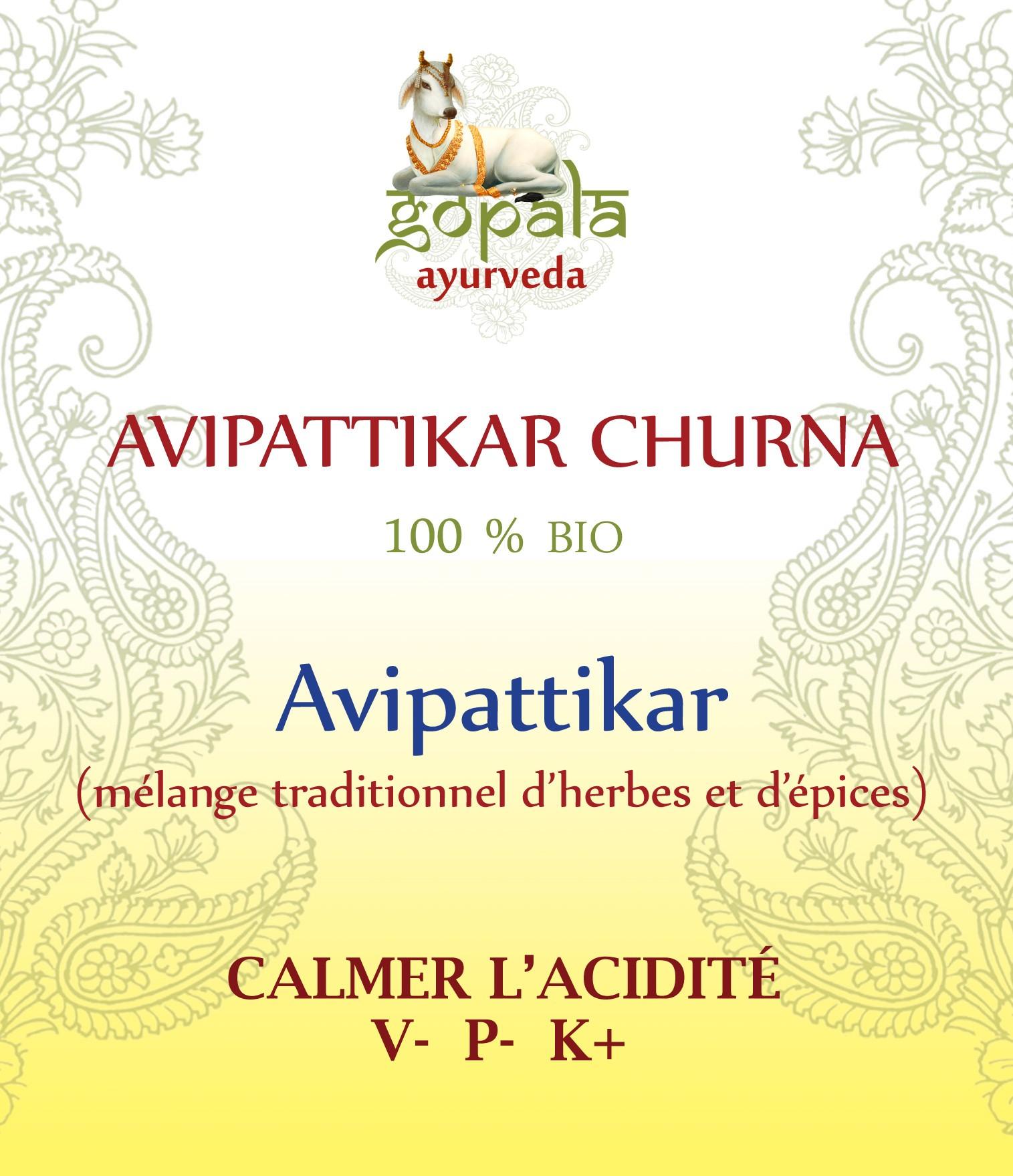 AVIPATTIKAR (formulation traditionnelle) BIO Gopala A.