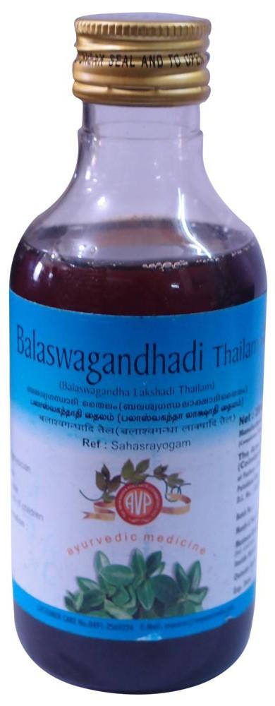 AVP - VATA (Balashwagandhadi) Thailam (200ml)