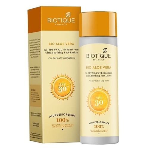 Biotique ALOEVERA FACE & BODY SUN LOTION SPF 30