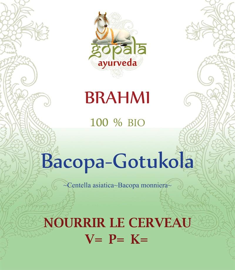 BRAHMI (Bacopa monniera + Centella asiatica) BIO Gopala A.