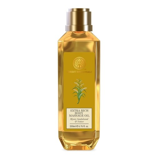Forest Essentials EXTRA RICH COLD-PRESSED BODY MASSAGE OIL