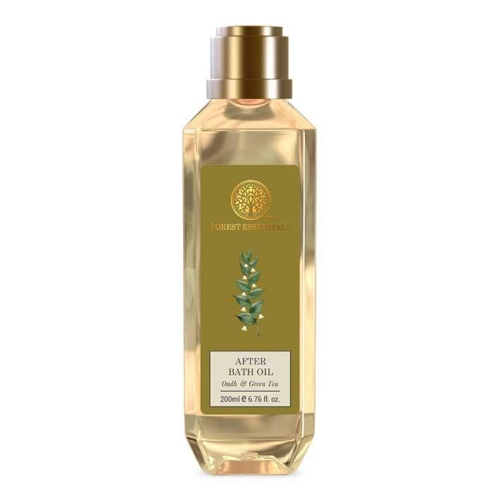 Forest Essentials After Bath Oil Oudh & Green Tea