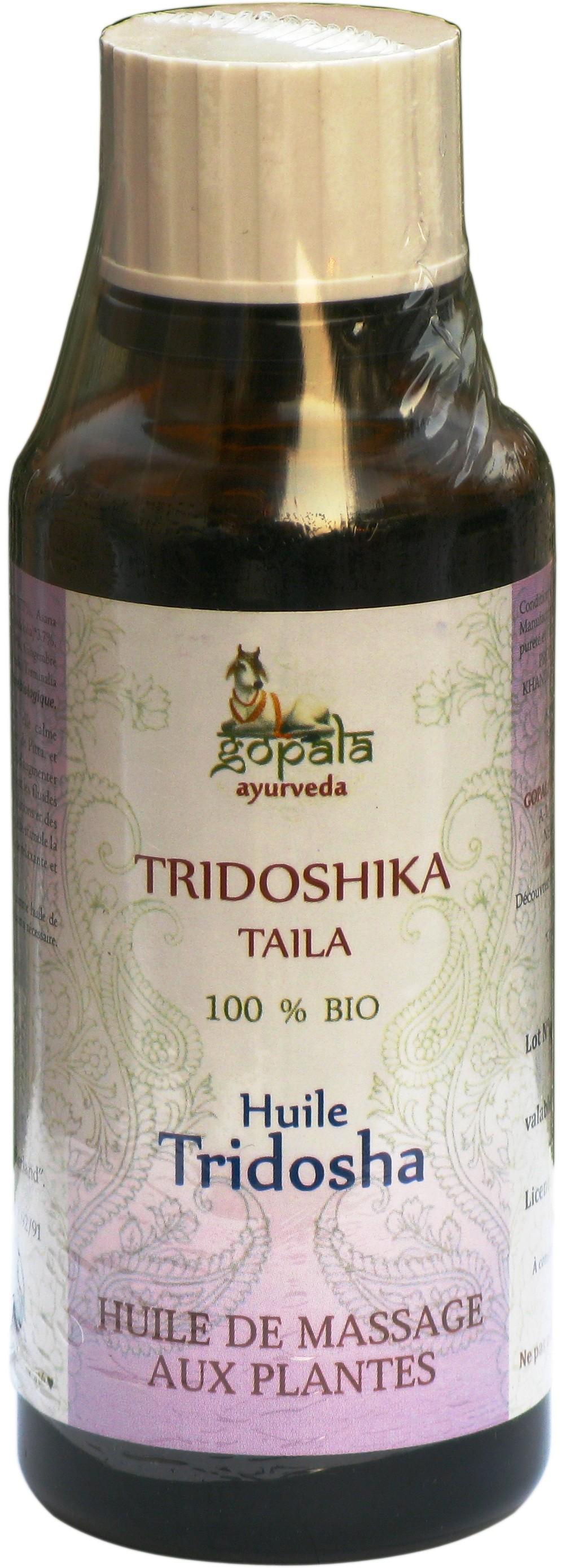 Gopala Ayurveda TRIDOSHIKA taila BIO