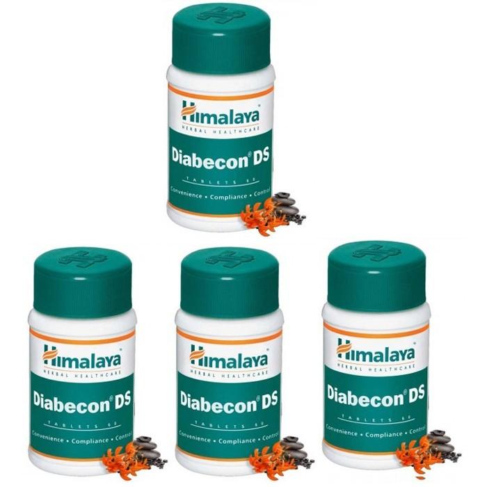 Himalaya DIABECON DS (4 paquets de 60 comprimés) - complément alimentaires Ayurvédique