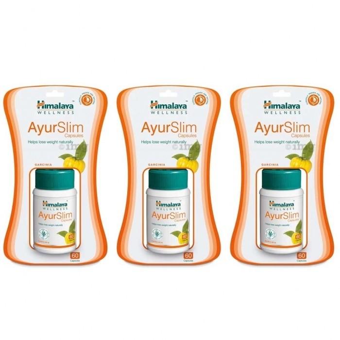 Himalaya AYURSLIM (3 paquets de 60 comprimés) - complément alimentaires Ayurvédique