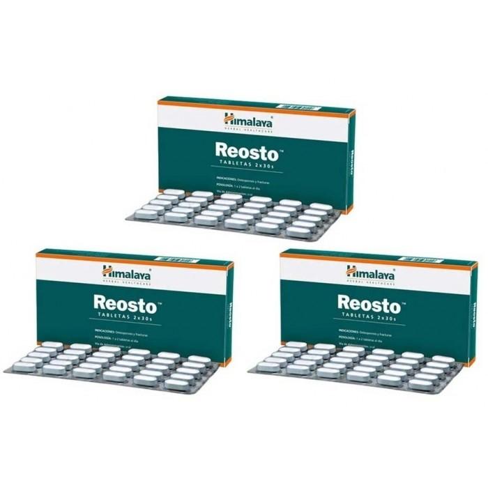 Himalaya REOSTO (3 paquets de 60 comprimés) - complément alimentaires Ayurvédique