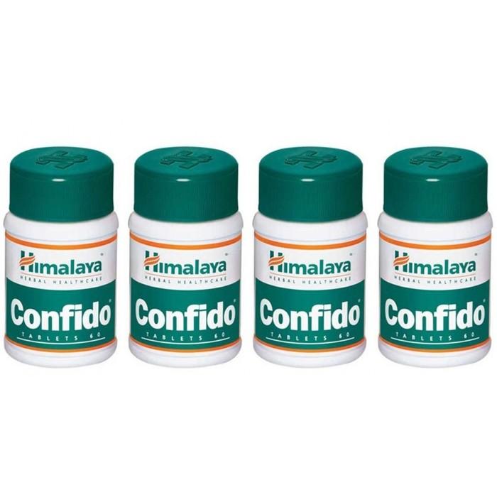 Himalaya CONFIDO (4 paquets de 60 comprimés) - complément alimentaires Ayurvédique