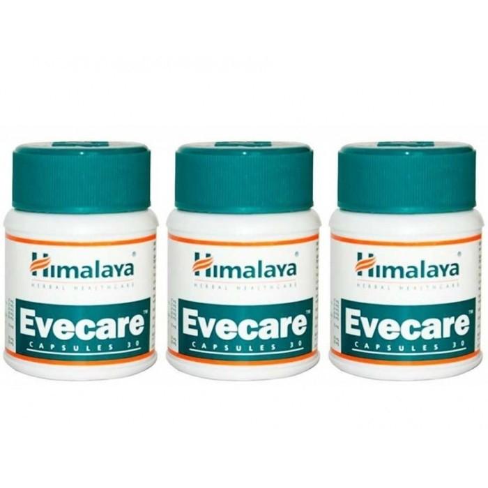 Himalaya EVECARE (4 paquets de 30 comprimés) - complément alimentaires Ayurvédique