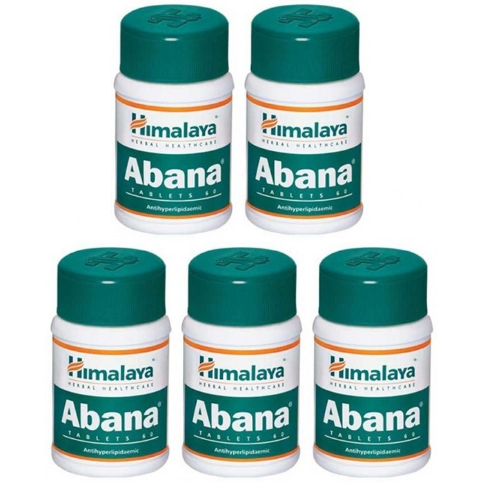 Himalaya ABANA (5 paquets de 60 comprimés) - complément alimentaires Ayurvédique