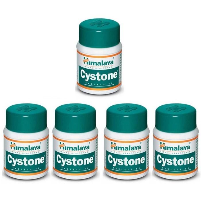 Himalaya CYSTONE (5 paquets de 60 comprimés) - complément alimentaires Ayurvédique
