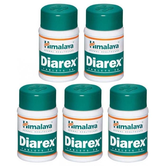 Himalaya DIAREX (5 paquets de 30 comprimés) - complément alimentaires Ayurvédique