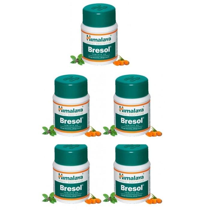 Himalaya BRESOL (5 paquets de 60 comprimés) - complément alimentaires Ayurvédique