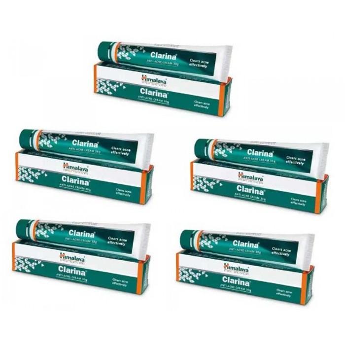 Himalaya CLARINA (5 paquets de 30gm cream) - complément alimentaires Ayurvédique