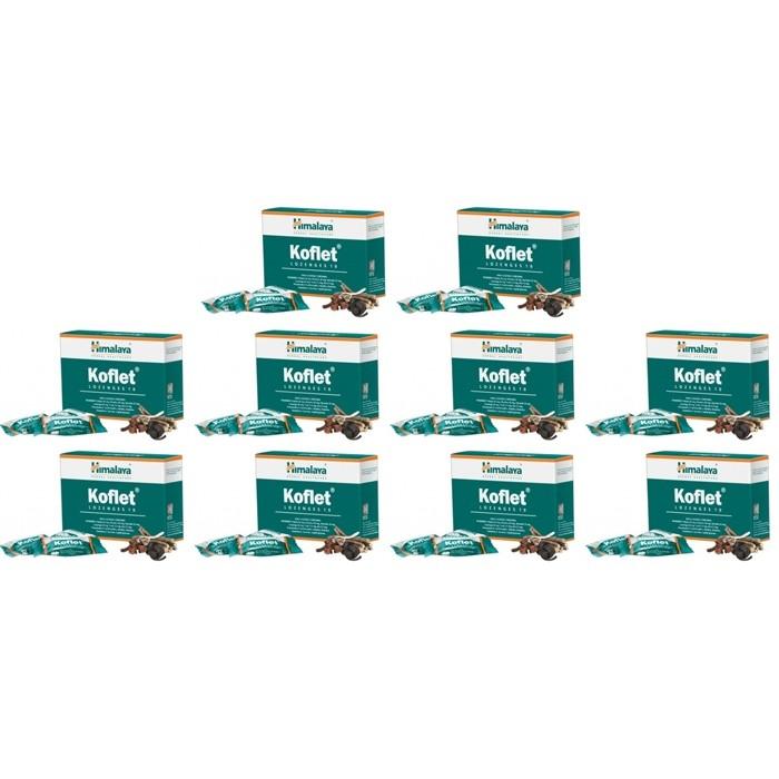 Himalaya KOFLET (10 paquets de 10 pastilles) - complément alimentaires Ayurvédique