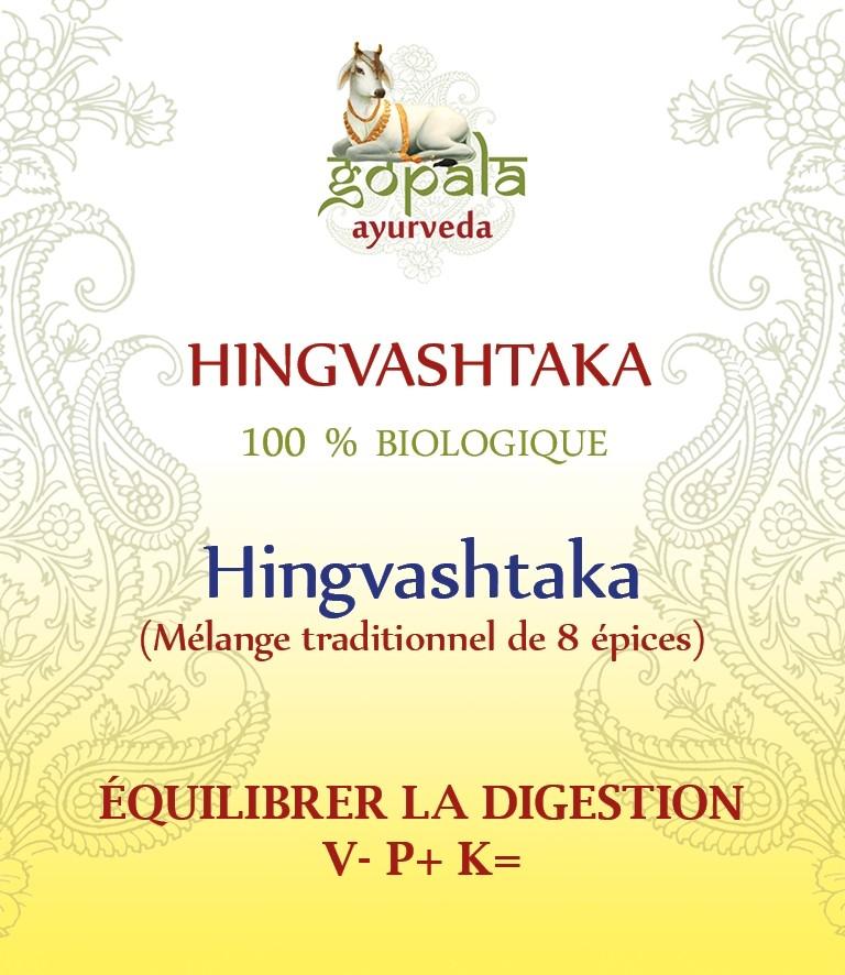 HINGVASHTAKA (formulation traditionnelle) BIO Gopala A.