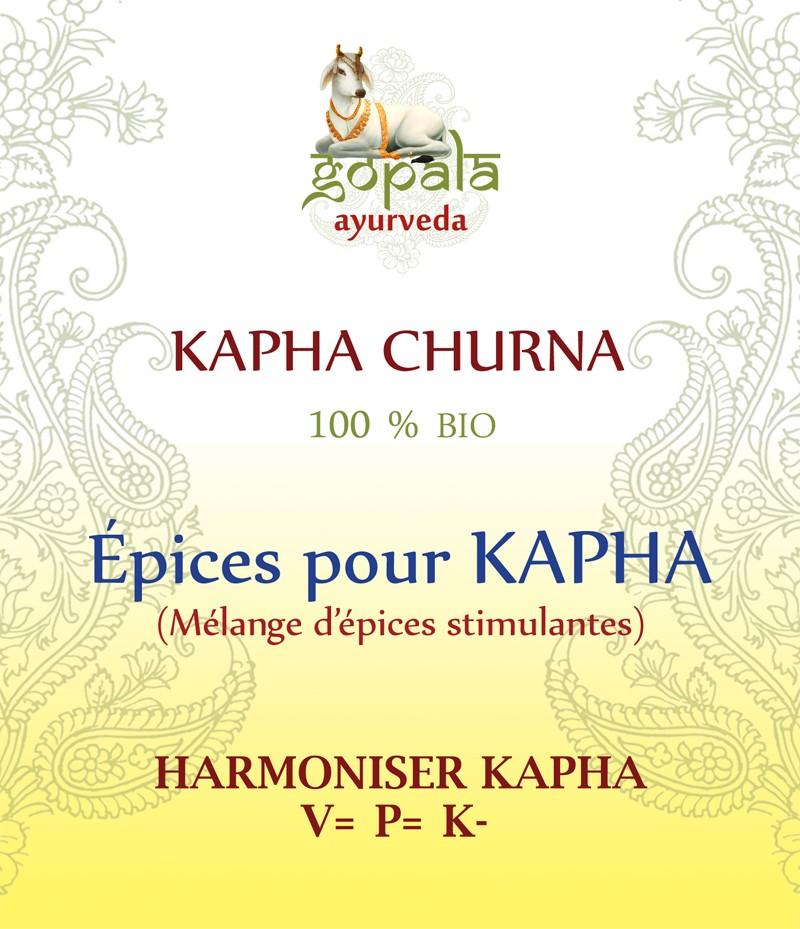 KAPHA SPICES (mélange d'épices) BIO Gopala A