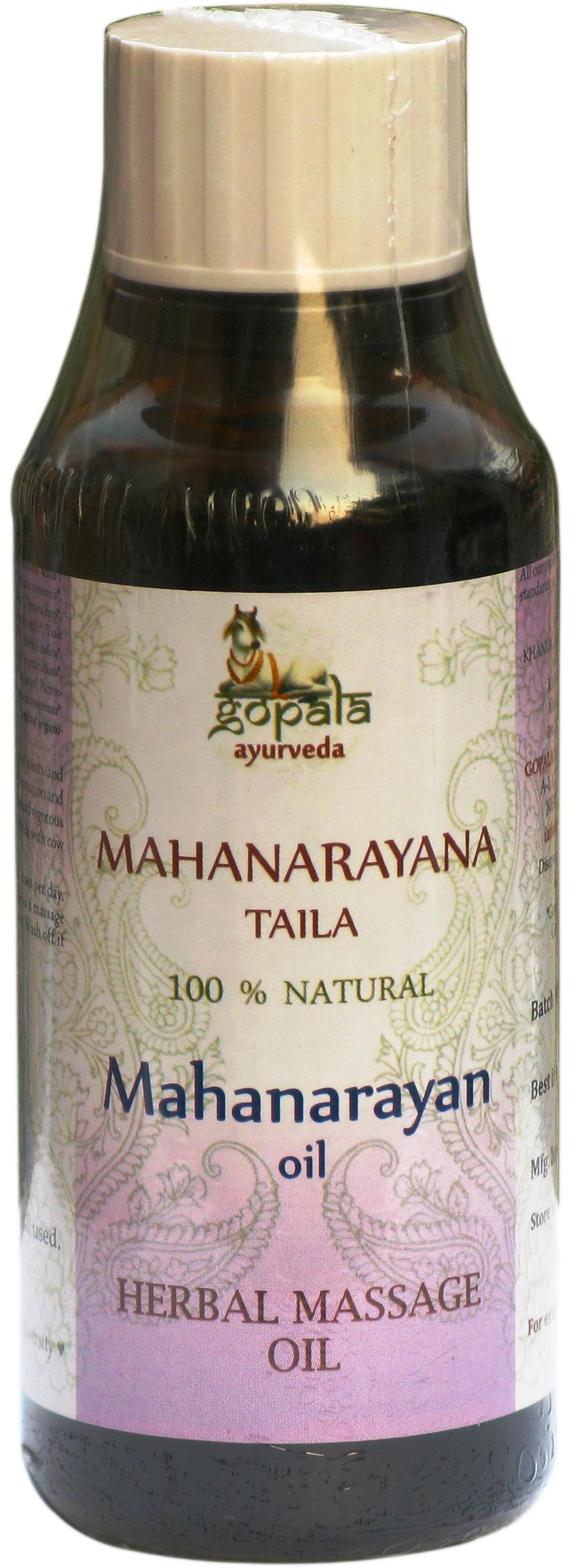 Gopala Ayurveda MAHANARAYANA taila BIO