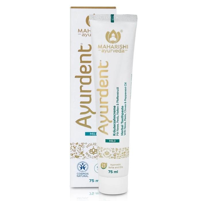 Maharishi Ayurdent toothpaste - dentifrice-mild