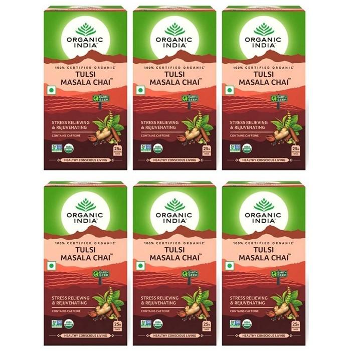 Organic India TULSI CHAI MASSALA (25 sachets)