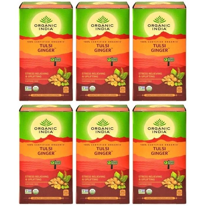 Organic India TULSI GINGER (25 sachets)