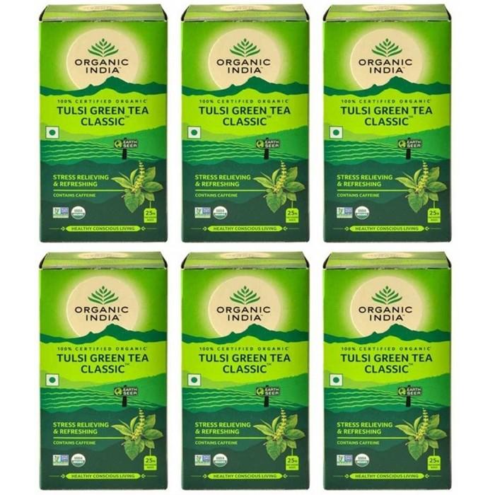 Organic India TULSI GREEN TEA (25 sachets)