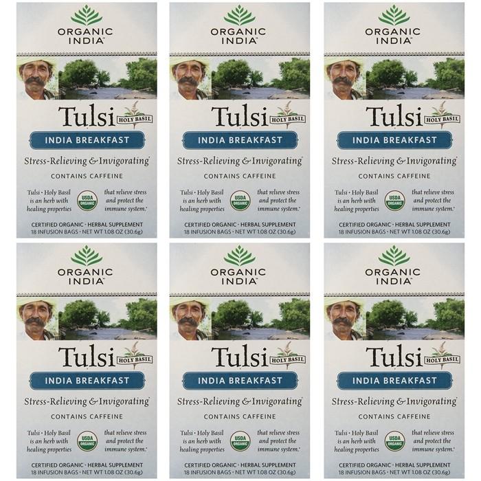 Organic India TULSI INDIAN BREAKFAST (25 sachets)