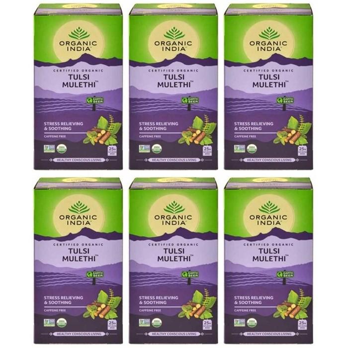 Organic India TULSI MULETHI (25 sachets)