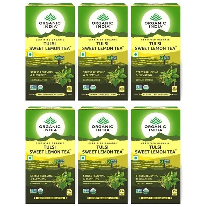 Organic India TULSI SWEAT LEMON TEA (25 sachets)