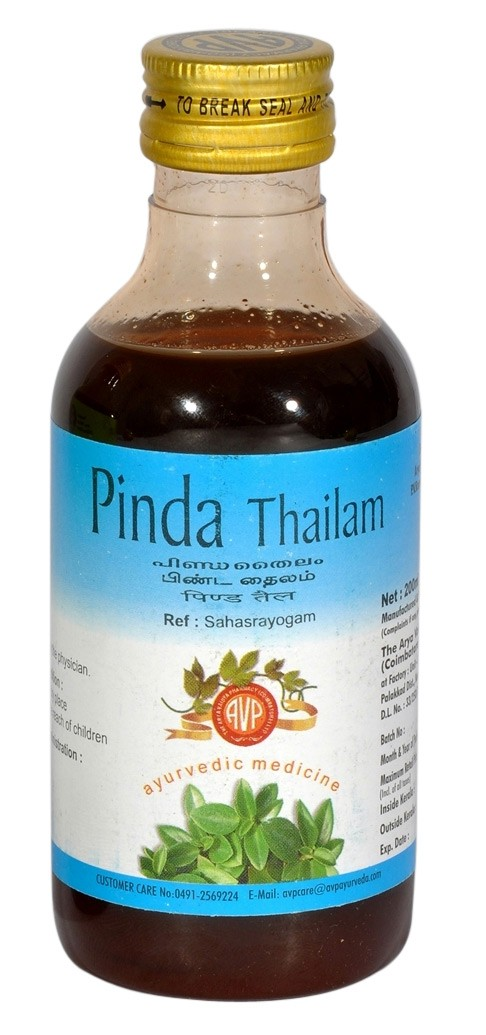 AVP - PITTA (Pinda) Thailam (200ml)