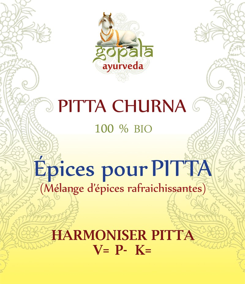 PITTA SPICES BIO Gopala A.
