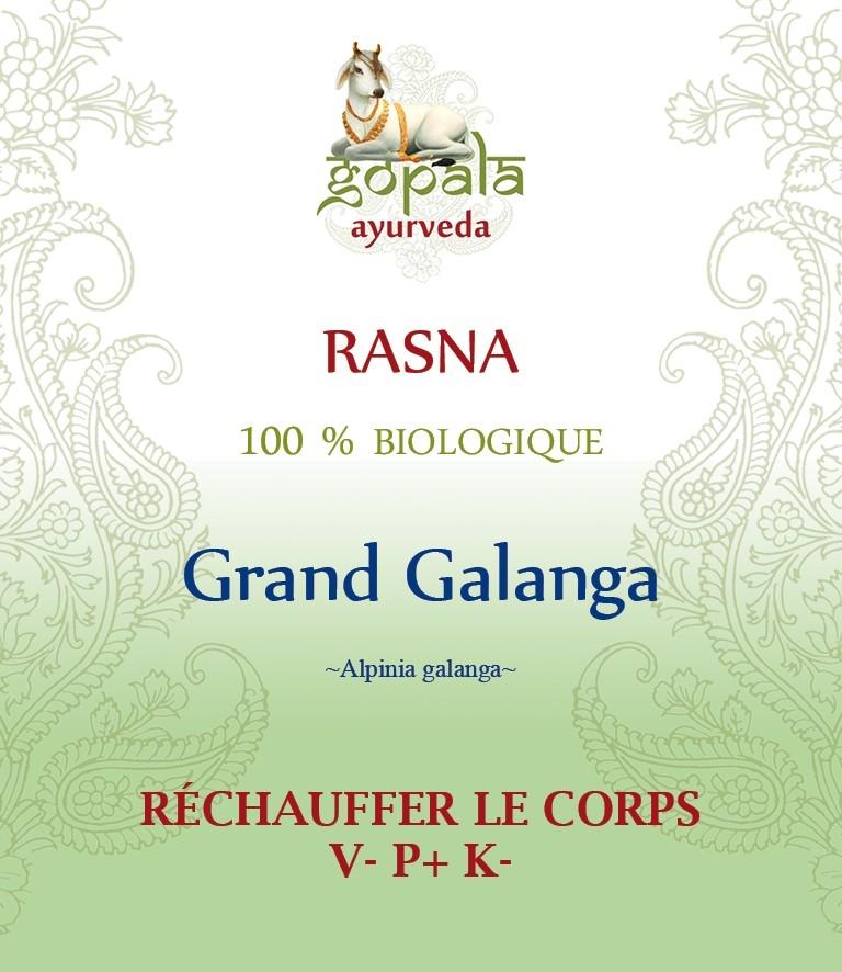 RASNA (Alpinia galanga) BIO Gopala A.