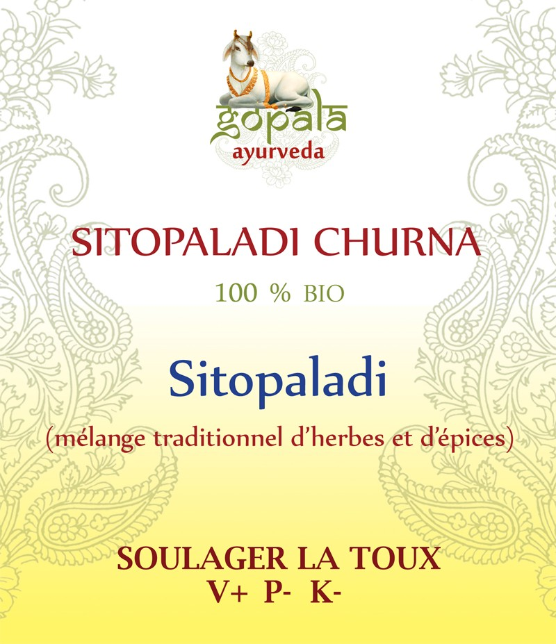 SITOPALADI (frmulation traditionnelle) BIO Gopala A.