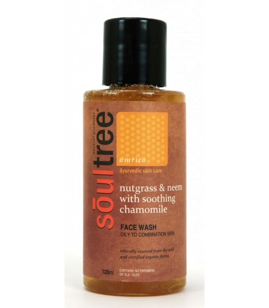 Soultree Nutgrass & Neem with Soothing Chamomile Face Wash