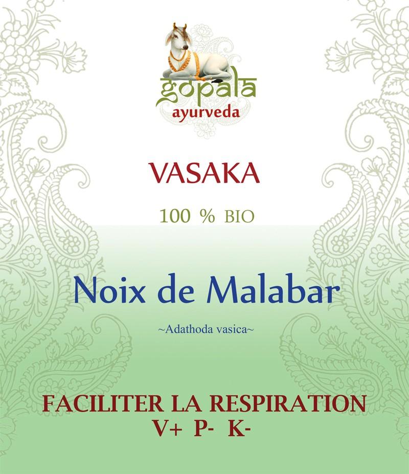 VASAKA (adathoda vasica) BIO Gopala A.